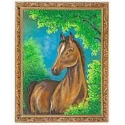 "Картина ""Лошадь"" багет 36х46 см фото"