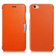 Чехол iCarer для iPhone 6 Luxury Orange (side-open) фото