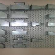 Фасонные изделия для воздуховодов из оцинкованной стали фото