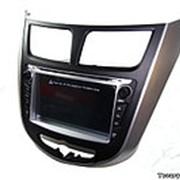 Штатная магнитола Hyundai Solaris 3G/GPS фото