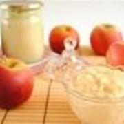 Пюре, пюре детское яблочное фото