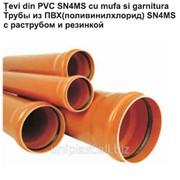Трубы для канализации поливинилхлоридные фото