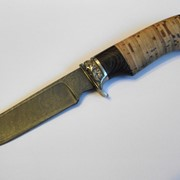 Ножи из дамасской стали фото