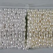 Пуговицы жемчужные 8мм 98±3гр /~220шт 570700 фото