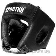 Шлем боксёрский Sportko арт. ОК1 черный фото