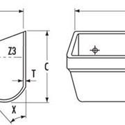 Ковш элеваторный (норийный) полимерный ATLAS AD630 фото