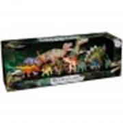 Игрушка игровой набор динозавров 11 штук фото
