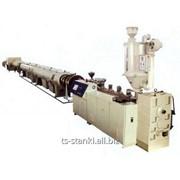 Линия экструзионная по производству труб PE400 фото