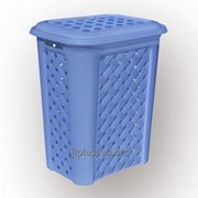 Корзина для белья пластиковая фото