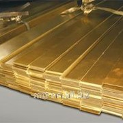 Полоса бронзовая 2 по ГОСТу 1595-90, 4748-92, марка БрАМц9-2 фото