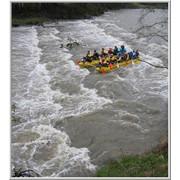 Водный туризм (Рафтинг и сплавы) Киевский экстрим-клуб SKY-CLUB предлагает всем желающим(спецподготовка не требуется) принять участие в водных походах на катамаранах фото