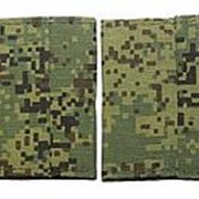 Фальш-погоны Младшего Сержанта вышитые, полевая цифра фото