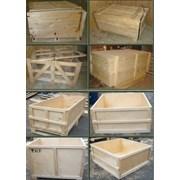 Деревянная тара, ящики деревянные, фанерная тара фото