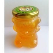 Мед в баночке Мишка фото