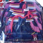 Детская джинсовая юбка Микки на 1-4 года, код товара 254134945 фото