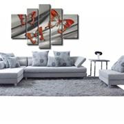 Элитные картины для гостиниц ручной работы сементированные Код товара: 300, модульные картины фото