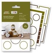 Этикетки Avery Zweckform Living для банок, 47,5 х 73 мм, белые, 30 штук, 5 листов Белый фото