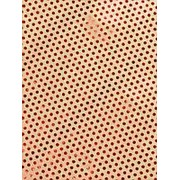 """Упаковочная бумага Феникс """"Красный горох"""",1 лист 70 х 100 см.,80 г/м2, крафт, фольгир.тисн., 76681 фото"""