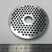 Z597.95 Решетка №2 для мясорубки общепита МИМ 500, 600 (к ножам без бурта) (Д-105/20мм)-Спб фото
