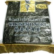 Водоросли прессованные Nori Gold 50 листов фото