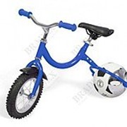 Беговел с колесом в виде мяча ВЕЛОБОЛЛ синий Bike on ball фото