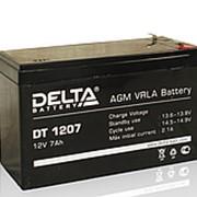 1207DT Аккумулятор свинцово-кислотный 12v/7Ач фото