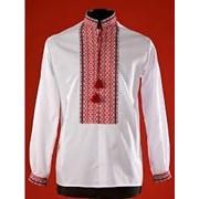 Украинская рубашка-вышиванка , с украинской тесьмой,мужская.женская фото