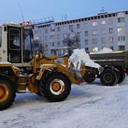 Оперативный вывоз снега, уборка и вывоз снега Киев фото