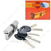 Секрет цинковый IMPERIAL ZС60 (30/30) (лазер.ключ/ключ, никель) (5 ключей) (ZC60 30/30SN) фото