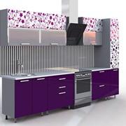 Кухонный гарнитур с фасадами из МДФ/пластик Фантазия фото