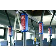 Реклама в салонах транспорта фото