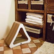 Когтеточка для кошки из картона Triangle фото