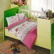 Постель для новорожденных Altinbasak (ранфорс) Neseli (pink) фото