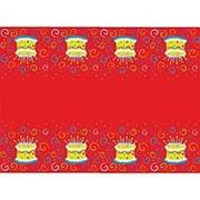 Скатерть полиэтиленовая Торт яркий 140см X 180см фото
