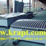 Технологический колодец с алюминиевой крышкой для оборудования АЗС фото