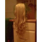 Шиньйон(хвост) из натуральных волос фото