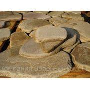 Песчаник окатанный. фото