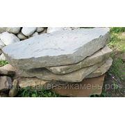 Плиты песчаника толщиной 70-120мм для ландшафта фото