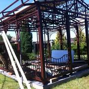 Монтаж стальных строительных конструкций фото