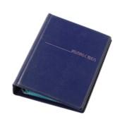 Визитница для 120 визиток на кольцах Panta Plast PVC фиолетовый (0304-0014-29) фото