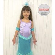 Детский карнавальный костюм Русалочка на прокат фото