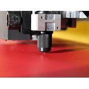 Изготовление наклеек методом плоттерной резки фото