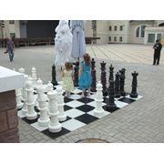Аренда больших напольных шахмат фото