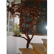 Декоративное дерево с полочками фото