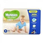 Подгузники Huggies Ultra Comfort мальчики 4 (8-14 кг), 80 шт фото
