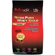 Nitro Pure Whey Gold 454г фото
