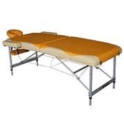 Массажный стол Dfc Nirvana Elegant Premium orange/beige фото