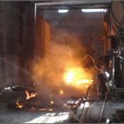 Обслуживание металлургической отрасли. фото