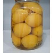Персики консервированные фото