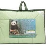 Одеяло детское в чемодане, цветной вкладыш бамбуковое волокно ( 300г/м2) 110х140 микрофибра фото